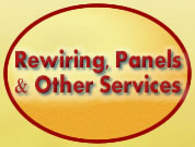 Services - Rewirong, Panel and Other Services